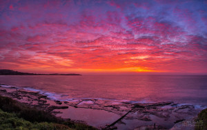Dee Why Spectacular Sunrise