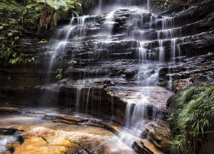 The Junction Falls Blue Mountains