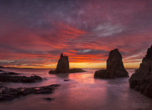 Cathedral Rocks Sunrise