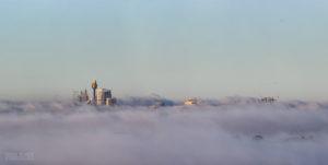 Sydney Foggy Skyline